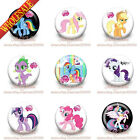 18-90pcs My Little Pony Kids Tin Button pin badges 30MM,Brooch Badges Kids Gifts