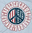 """New! The Black Crowes """"Peace"""" Classic Rock Band Licensed Concert Tour T-Shirt image"""