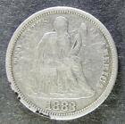 1883-P Seated Liberty Dime. Very Fine.