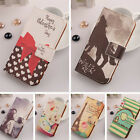 Accessory PU Leather Case Design Protector Skin Cover For Samsung Smartphone New
