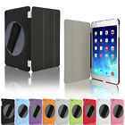 360Degree rotating grip handle Smart Stand Case Cover for iPad 2,3,4,5/iPad mini