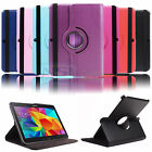 For Samsung Galaxy Tab 4 10.1 SM-T530NU Smart Cover Rotating Stand Case Wake Up