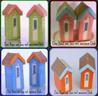 salt and pepper pots shakers sets ceramic novelty BEACH HUTS