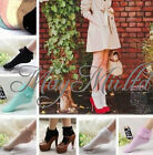 Fashion Vintage Lace Ruffle Frilly Ankle Socks Ladies Princess Girl Gift New J
