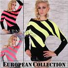 NEW SEXY BATWING JUMPER size 6 8 10 SWEATERS for women CASUAL CLOTHING sz XS S M