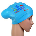 Fashion Waterproof Silicone Swim Cap/Hat for Girls Ladies Long Hair With Ear Cup