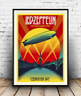 Led Zeppellin : Old Advertising poster reproduction