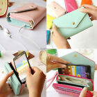 For Cell Phone iphone Galaxy S MP4 MP5 Wrist Wallet Pouch Case Purse Wristlet