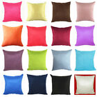50x50CM Suede Nap Pure Color Cushion Cover Home Decor Sofa Throw Pillow Case Hot