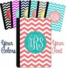 personalized leather ipad mini case - Personalized iPad Case iPad Mini, iPad Air, Pro Case Monogrammed Chevron Cute