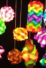 IQ Puzzle Lights Jigsaw Infinity Lights / Pack of 10 Pieces /Choose colors/sizes
