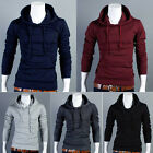 Mens Slim Fit Sexy Top Warm Designed Hoodies Jackets Coats Hoody 5Color 4Size