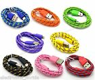 8 Pin Usb Data Sync Charger Cable Cord For Iphone 5 5s 5c Ipod Touch 5 Nano 7