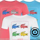 Lacoste Kid's Crew Neck Coloured CROC'S Printed Plain T-Shirt 4 10 14Years L34A