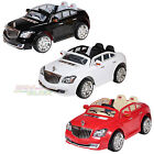 New 12V Electric Kids Mercedes Maybach Style Twin Seat Ride On Car Open Door