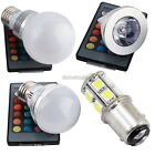E27 RGB 3/5W 16Colour Dimmable LED Bulb Changing Light Lamp+FREE remote ItS7