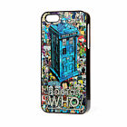 "NEW DR WHO COMIC TARDIS PHONE CASE APPLE IPHONE 4-4S/5/5S/5C/6 4.7"" FREE P&P"