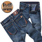 New Men Stylish Designed Straight Slim Fit vintage Trousers Casual Jean Pants 43