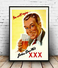 John Smiths : Old Beer Advertising Poster reproduction