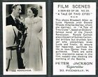 Jackson - Film Scenes 1936 #1 to #28 UK Movie Tobacco Cards (from £1.75 each)