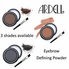 Ardell Brow Defining Powder High Quality Pigment Long Lasting Brown / Black