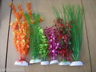 "BETTA PLASTIC AQUARIUM PLANT 8"" 12"" 16"" VARIOUS STYLES / COLOURS WEIGHTED BASE"
