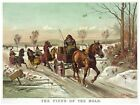 4440.The fiend of the road.horse drawn carriage.POSTER.decor Home Office art