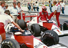 NIKI LAUDA AND ALAIN PROST 04 (FORMULA 1 1970s) PHOTO PRINT