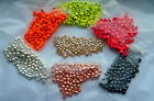 50 Elite Gold Tungsten beads painted fly tying many sizes mm fishing