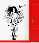 Wall Sticker Vinyl Decal Abstract Hot Sexy Girl Tree Mode...
