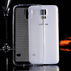Grid line Ultra Thin Transparent Clear Soft Back Case Cover Skin For Samsung S5