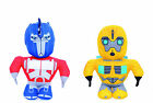 """NEW OFFICIAL 12"""" TRANSFORMERS PLUSH SOFT TOYS OPTIMUS PRIME BUMBLEBEE SOFT TOY"""