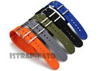 Premium Military watch band Nylon strap Bonded For Luminox Watch 18mm 20mm 22mm