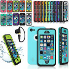 Waterproof Shockproof Dirt Snow Proof Durable Hard Case Cover For iPhone 5 5S/5C