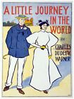 6150.A little journey in the world.charles dudley warner.POSTER.Home Office art