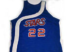 CUSTOM NAME & NUMBER  UTAH STARS JERSEY BLUE NEW ANY SIZE XS - 5XL