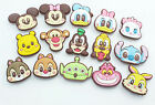 Free shipping wholesale children Disney cartoon mix PVC Shoe Charms Fit Jibbitz