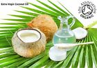Coconut Oil, Extra Virgin, Unrefined - Organic - Natural - Fast FREE UK Shipping