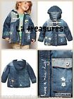 ♥**NEXT**Denim Mouse Detail Dufffle Coat. AGE 2/3 YEARS♥**BNWT**♥
