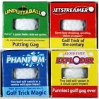 FUNNY JOKE TRICK EXPLODING GOLF BALLS + TEES MENS GOLFERS NOVELTY UNUSUAL GIFTS