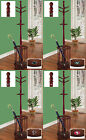 FC637 NFL THEMED CHERRY FINISH HAT RACK HALL TREE COAT UMBRELLA STAND MAN CAVE