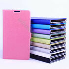 Hot Sale Ultra Thin Stand Magnetic Flip Card Leather Case Cover Fr Various Phone
