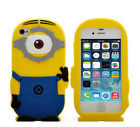 Despicable Minion Ocellus Soft Silicon Case+screen protector for iPhone 5 5s
