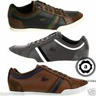 Lacoste Men's Rayford SRM Leather Trainers Lace Up Casual Sneakers Sports Shoes