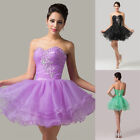 Homecoming Dress Bridal Bridesmaid Costume Cocktail Ballgown Evening Short Dress