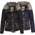 Urban Surface Damen Daunen Winterjacke Wintermantel Winter Jacke Mantel 44204A