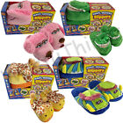 MAGIC MOVERS ANIMATED ANIMAL SLIPPERS GIRLS BOYS FUN CROC POODLE GIRAFFE