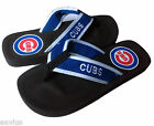 Chicago Cubs MLB Mesh Women's Flip Flops Slippers Sandals Shoes Blue