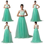 ❤DISCOUNT❤Formal Party Lace & Tulle Evening Gown Bridesmaid Prom Wedding Dresses