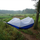 Portable Parachute Hammock Hanging Bed + Mosquito Net F Outdoor Camping Travel ~